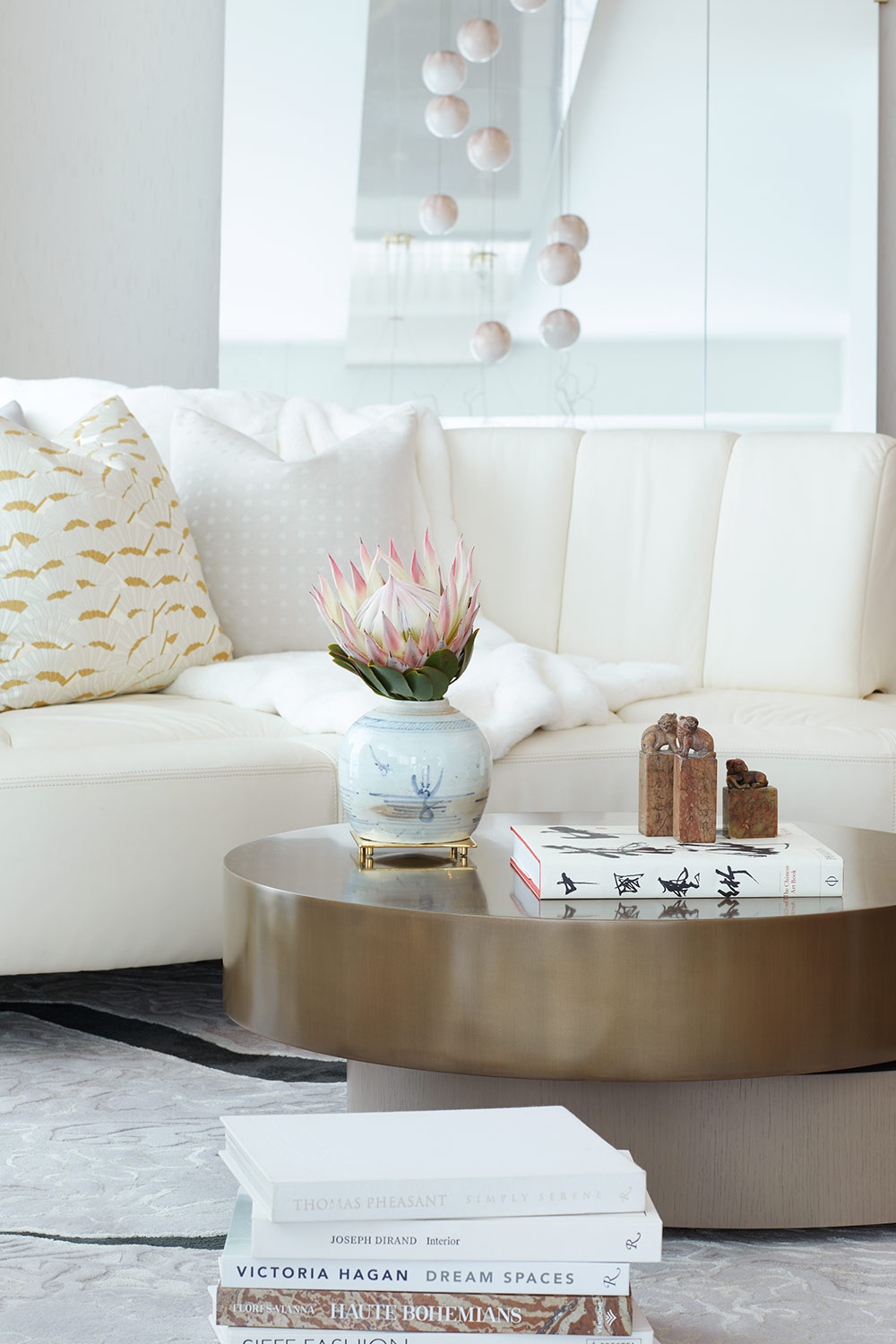 Bay street condo coffee table